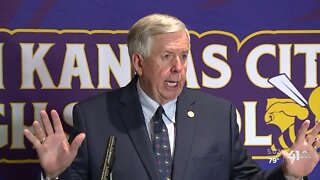 Missouri Gov. Mike Parson meets with KC school leaders on reopening plans