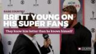 Brett Young on his super fans | Rare Country - Video