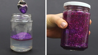 DIY Glitter Jar - Video