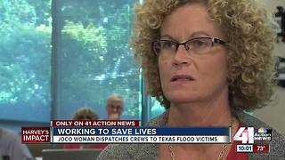 Realtor helping rescue Harvey victims from JoCo - Video