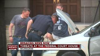Threats made at the federal court house - Video