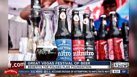 Great Vegas Festival of Beer taking over downtown