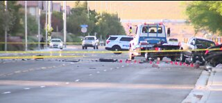 North Las Vegas PD: 1 dead, 2 injured in high-speed crash
