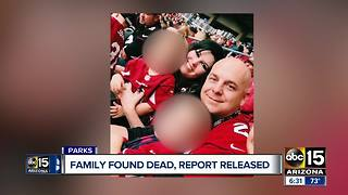 Police report released in death of El Mirage family inside cabin - Video