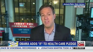 Chris Christie Gives Advice to Obama: Don't Be 'Cute' About Your Broken ObamaCare Promise - Video