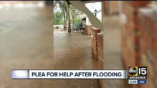 Clean-up underway after monsoon storm hits Valley apartment - Video