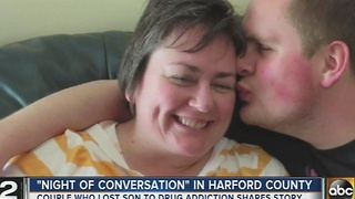Harford County encouraging parents to talk about drugs at the dinner table - Video