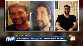 Missing Navy SEAL found safe in Los Angeles - Video