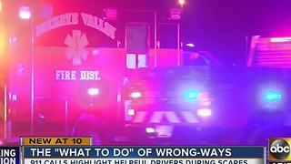 More wrong-way crashes happening in the Valley, how do we stop them? - Video