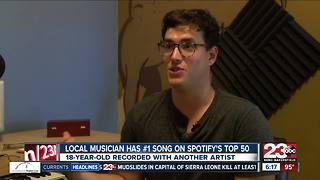 Bakersfield musician ranks first on Spotify - Video