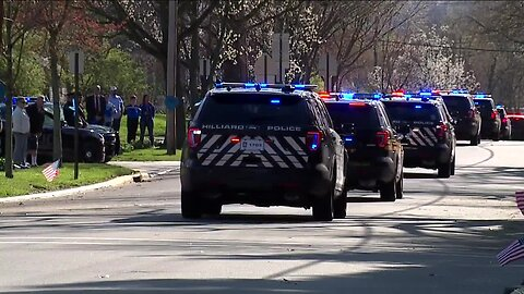 Springdale Ofc. Kaia Grant laid to rest Sunday