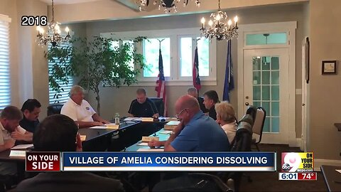 Village of Amelia could vote to dissolve