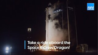 SpaceX Crew Dragon Behind the Scenes!