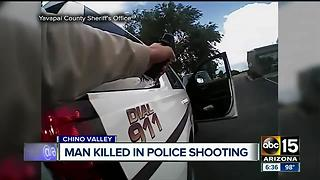 VIDEO: Man shot, killed by officers in Yavapai County - Video