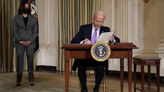 President Biden Signs Executive Orders For Racial Equity