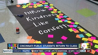 Cincinnati Public Schools students return to class today