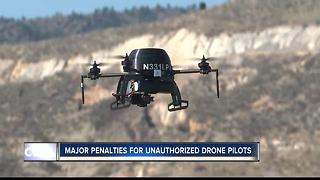 Private drones hindering firefighting efforts - Video