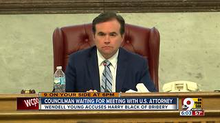 Councilman waiting for meeting with U.S. attorney - Video