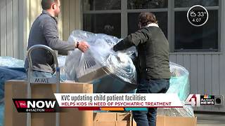 KVC, volunteers makeover child treatment center - Video