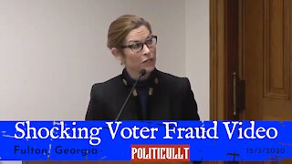 Proof of Election Fraud in Georgia - Fulton County TCF Center - Full Video
