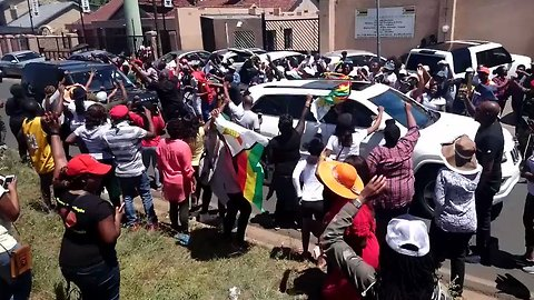Solidarity March Held Outside Zimbabwean Consulate in South Africa