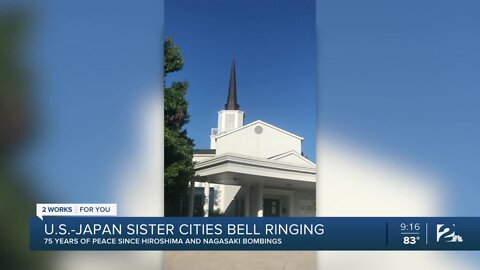U.S.-Japan Sister Cities Bell Ringing in Tulsa