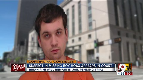 Suspect who pretended to be missing boy appears in court
