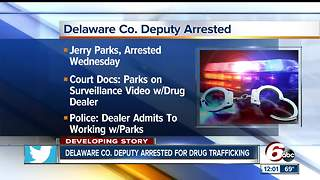 Delaware County Sheriff's Department deputy arrested on drug charges - Video