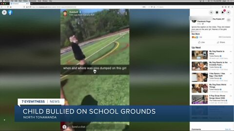 Video shows group of girls bullying girl on North Tonawanda field
