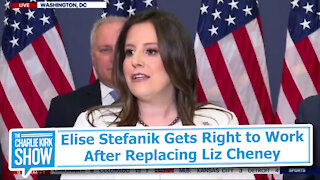 Elise Stefanik Gets Right to Work After Replacing Liz Cheney
