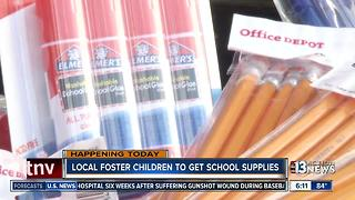 1,000 foster children to get school supplies at Vegas event - Video