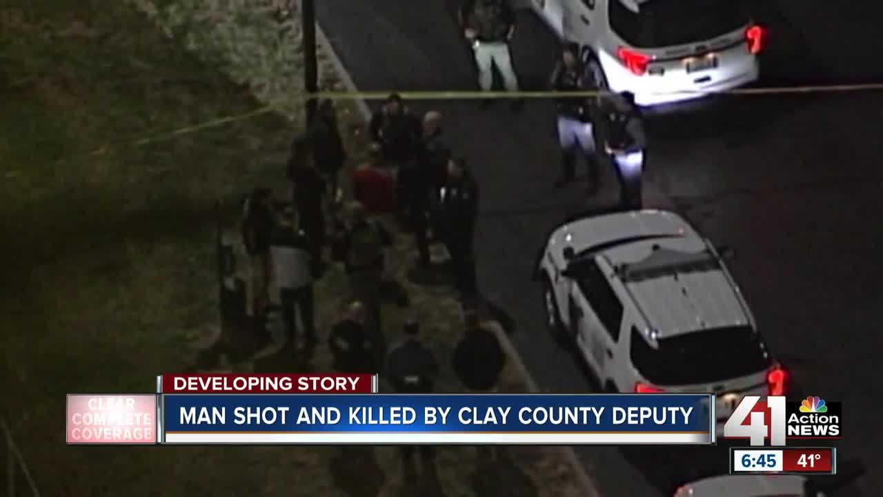 Man shot and killed by Clay County deputy