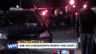 Are OVI checkpoints in Northeast Ohio worth the taxpayer money? - Video