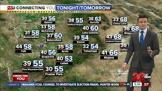 23ABC Evening weather update December 21, 2020