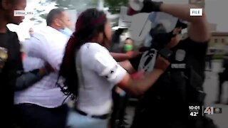 KCPD officer charged with assault for pepper spraying juvenile during protests last May