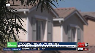 Housing prices on the rise