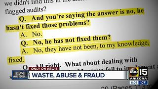 Whistleblowers oust top executives at Phoenix company - Video