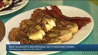 Restaurants in metro Detroit reopening with restrictions