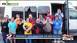 Pathways Adult Learning Center gets donations for new shuttle