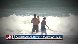 Study: More children drown in open bodies of water - Video