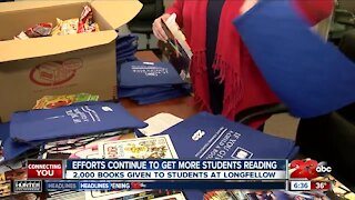 Efforts continue to get more students reading