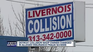 Detroit collision shop accused of bribing police in fraud scheme