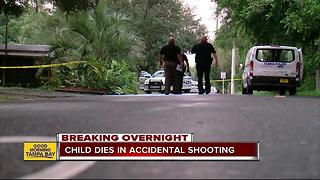 4-year-old Tampa boy dies after accidentally shooting himself