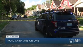 KCPD chief says 'perfect storm' led to spike in homicides