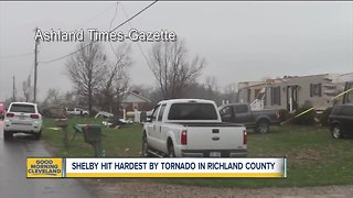 Severe damage throughout Shelby after tornado touched down