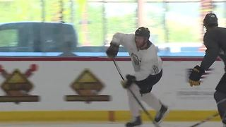 Vegas Golden Knights return to practice at City National Arena - Video
