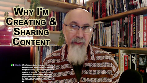 Why I Got into Creating & Sharing Content, My Engagement Online, Especially the Mathematics