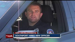 Southport police hires new officer who will replace the late Lt. Aaron Allan - Video