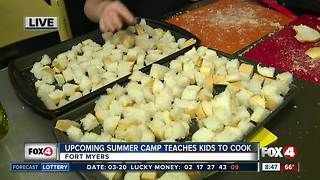 Summer camp teaches kids how to cook -- 8:30am live report