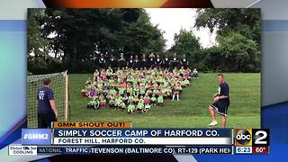 Simply Soccer Camp says good morning Maryland! - Video